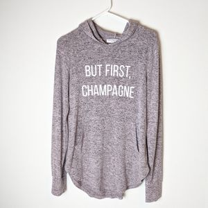Grayson Threads, But first champagne, size medium